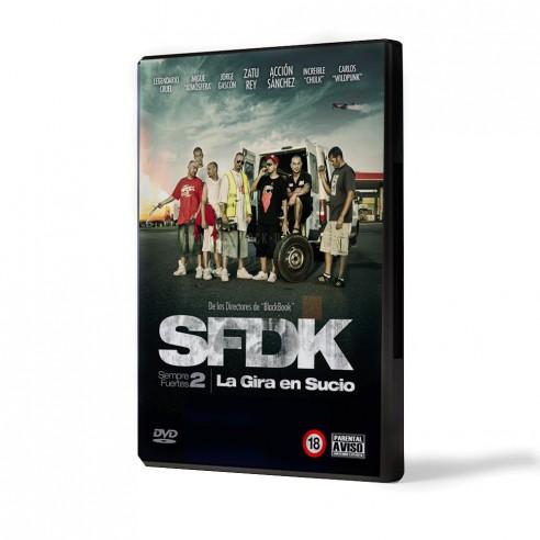 DVD la gira en sucio