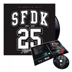 camiseta gris logo redondo sfdk