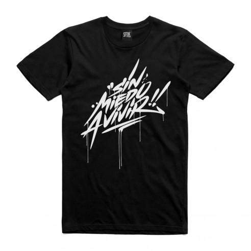 "Camiseta ""SIN MIEDO A VIVIR"""